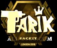 Обновлённый стикер Tarik