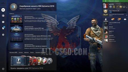 Получение медали за службу в CS:GO